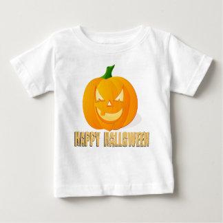 Happy Halloween pumpkin baby shirt