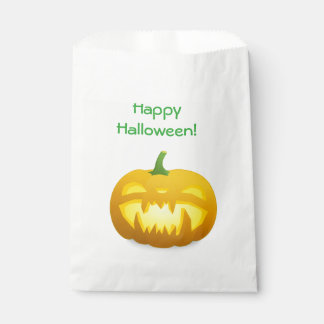 Happy Halloween Pumpkin Party Candy Treats Bag Favour Bags