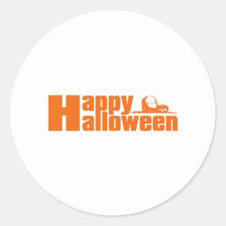 Happy Halloween RIP Pumpkin Sticker