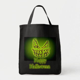 Happy Halloween Spooky Creeper tote Canvas Bag
