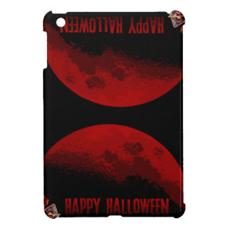 Happy Halloween Witchs and Moons iPad Case