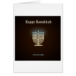 Happy Hanukkah 363 Card