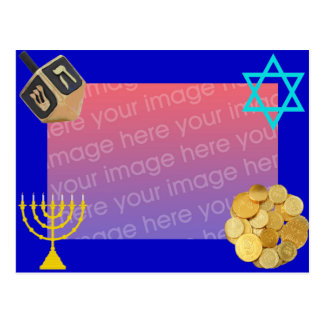 Happy Hanukkah Postcard