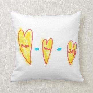 Happy Hearts Day Cushion