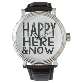 Happy Here and Now Watch