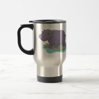 Happy Hippo Travel Mug