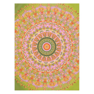 Happy Hippy Mandala Tablecloth