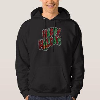 Happy Holidays - Basic Hooded Sweatshirt