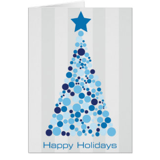 Happy Holidays Note Card