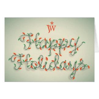 """Happy Holidays"" Card Option 2"