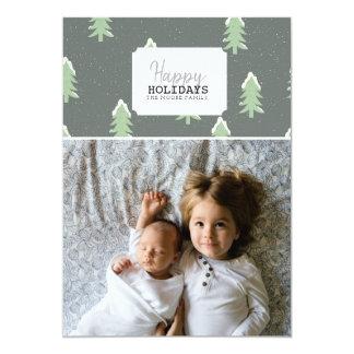 Happy Holidays | Christmas Tree Photo Card