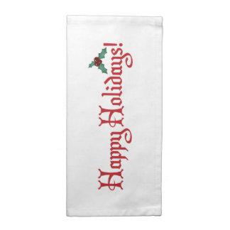 Happy Holidays Cloth Napkin
