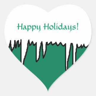 Happy Holidays! - Holiday stickers