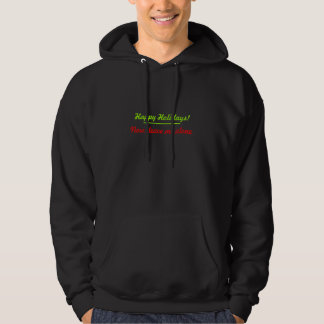 Happy Holidays Now Leave Me Alone Hoodie