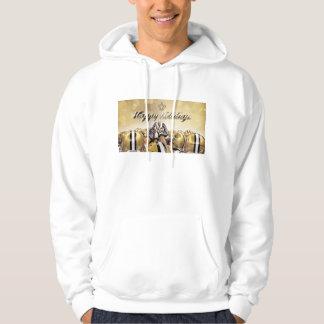 Happy Holidays Saints Sweatshirt