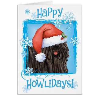 Happy Howliday Puli Card