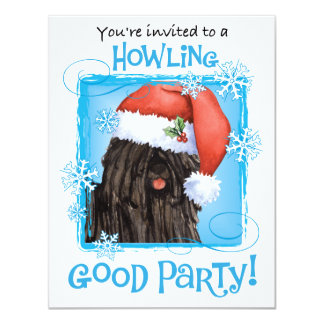 Happy Howlidays Puli Card
