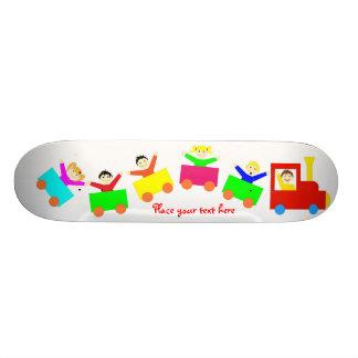 Happy Kids Train Skate Decks