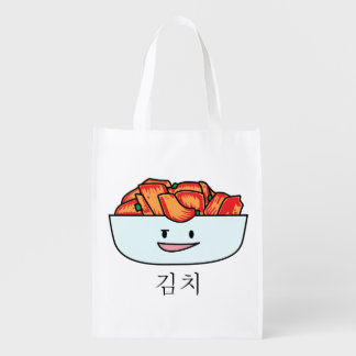 Happy Kimchi Kimchee Bowl - Happy Foods Designs Reusable Grocery Bag