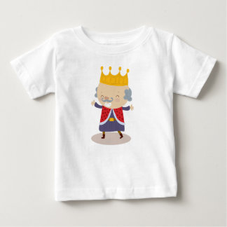 Happy King William from Fairy Tale Kingdom Baby T-Shirt