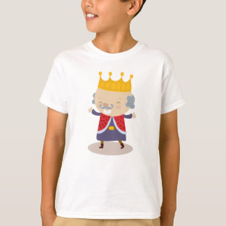 Happy King William from Fairy Tale Kingdom Tees