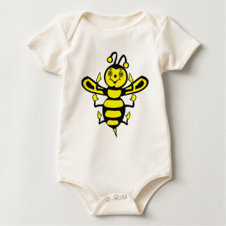 Happy Little Bee. Baby Bodysuit