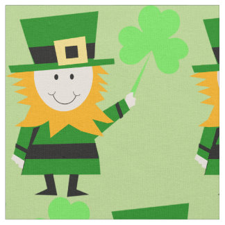 Happy Little Leprechaun Fabric