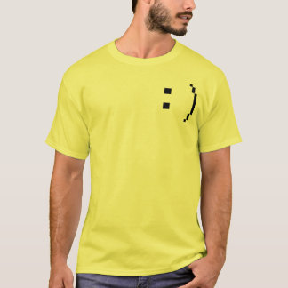 happy mens short sleeve shirt