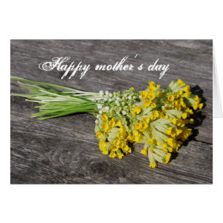 Happy mother´s day card