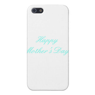 Happy Mother's Day Cyan The MUSEUM Zazzle Gifts Cover For iPhone 5