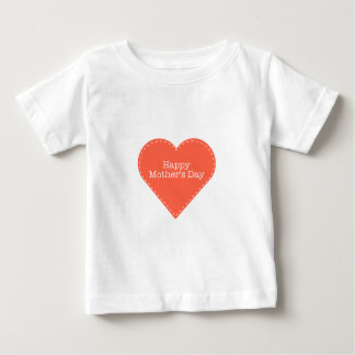 Happy Mother's Day Heart Baby T-Shirt