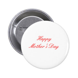 Happy Mother's Day Red The MUSEUM Zazzle Gifts Buttons