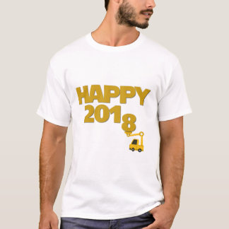 Happy New year 2018 Men T-Shirt