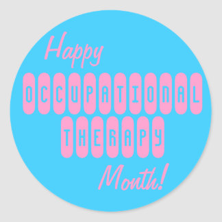 Happy Occupational Therapy Month Stickers