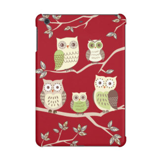 Happy Owl Family Savvy iPad Mini Retina Case
