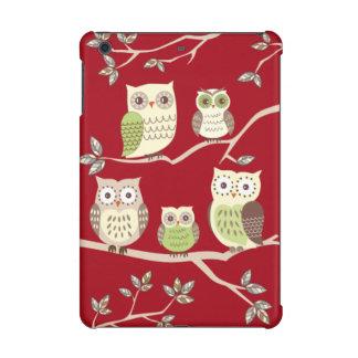 Happy Owl Family Savvy iPad Mini Retina Case