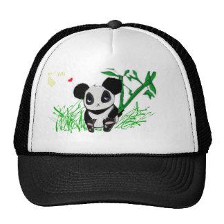 Happy Panda Bamboo Cap