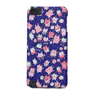 Happy Pink & Purple Party Cats iPod Touch 5G Case