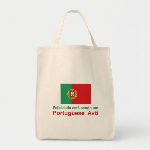 Happy Portuguese Avo (Grandfather) Bag