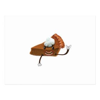 Happy Pumpkin Pie Post Cards