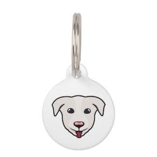 Happy Puppy Golden Retriever Pet Tag