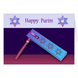 Happy Purim Card