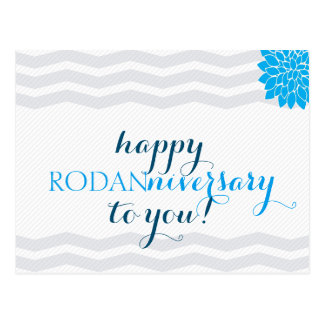 Happy Rodanniversary - Double-sided Postcard