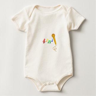 Happy Singing Music Karaoke Baby Bodysuit
