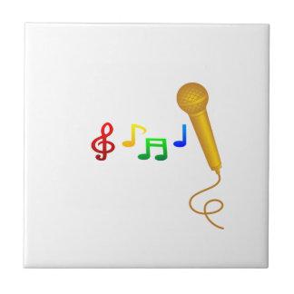 Happy Singing Music Karaoke Tile