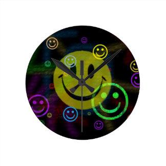 Happy smily clock