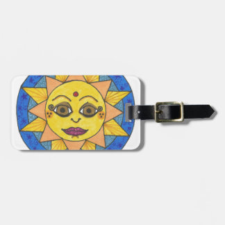 Happy Sun Luggage Tag