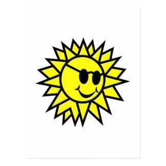 Happy Sun Postcard