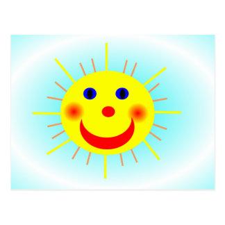 Happy Sun Post Card