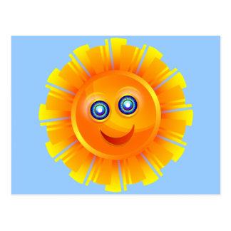 Happy Sun Postcards